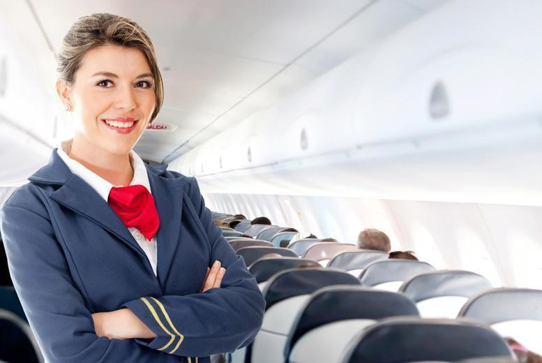 £19 for an online cabin crew diploma, £29 for a one-day intensive course or £39 for both with Cabin Crew Recruitment - save up to 95%
