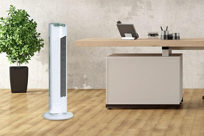 3 speed oscillating tower fan