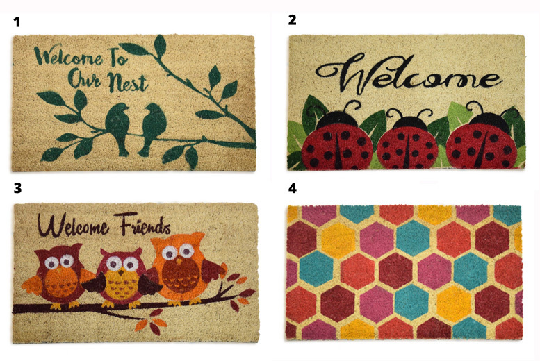 Coir Door Mats - 20 Designs!