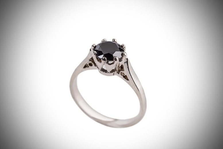 Cubic Zirconia Solitaire Ring for £9.99