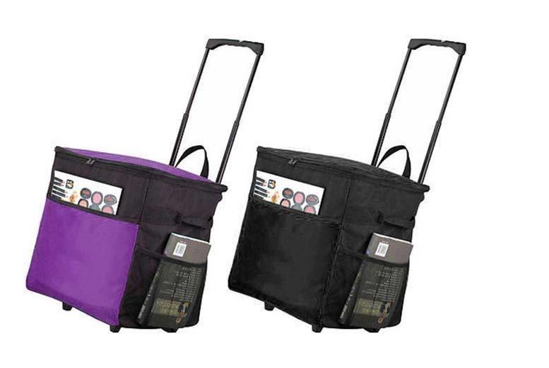 Extra-Large Wheelie Picnic Bag – 2 Colours! for £14.00