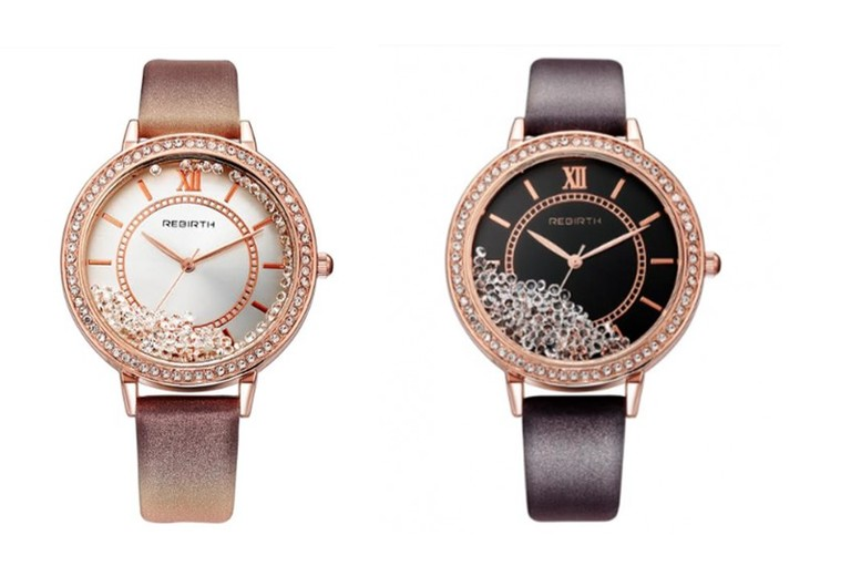 Floating Crystal Watch - 2 Designs!