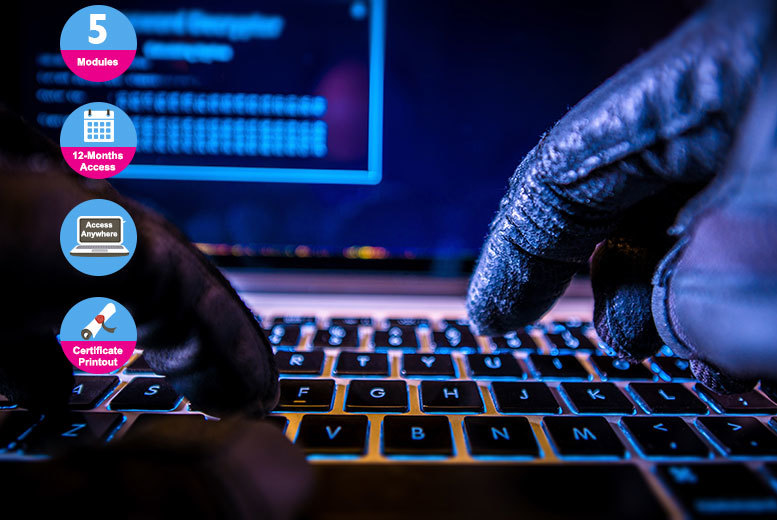 Online Computer Hacking Forensic Investigator Course for £49.00