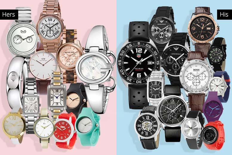 Mystery Watch Deal - Tag Heuer, Gucci, MK, D&G, Hugo Boss, Breo & More!