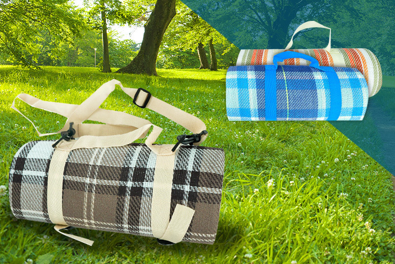 XL Waterproof Picnic Rug- 3 Styles! for £4.99