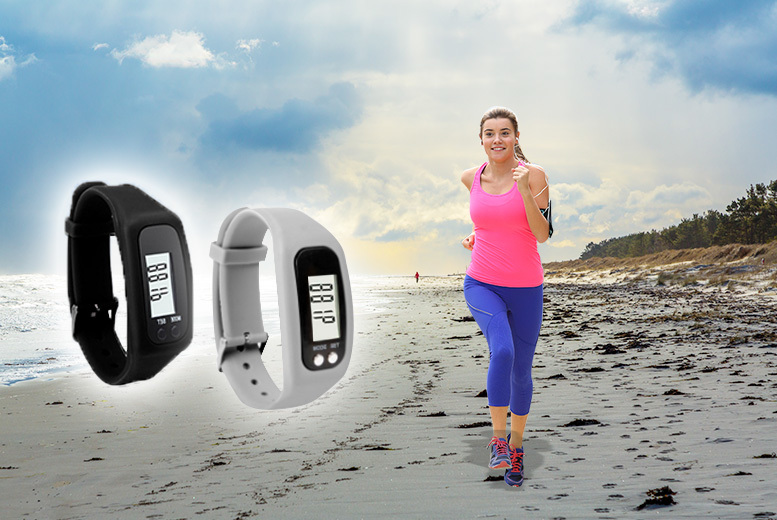 LCD Pedometer Sports Watch - 2 Designs!