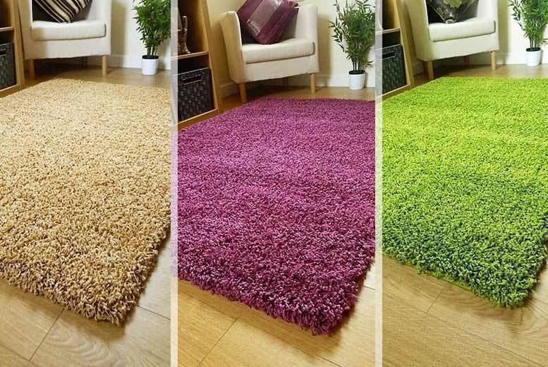 Soft-Touch Shaggy Rug - 9 Colours!