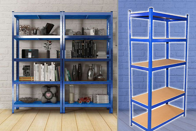 £22 instead of £199.99 for a five-tier set of storage racking - save 89%