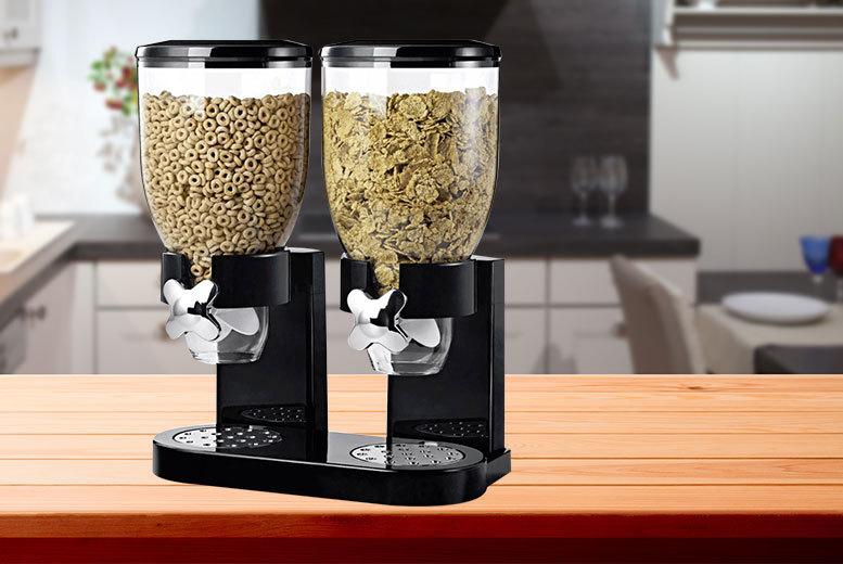 cereal or dry food dispenser