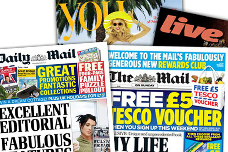 £20.62 (from the Daily Mail) for a one-month subscription to the Daily Mail & Mail on Sunday