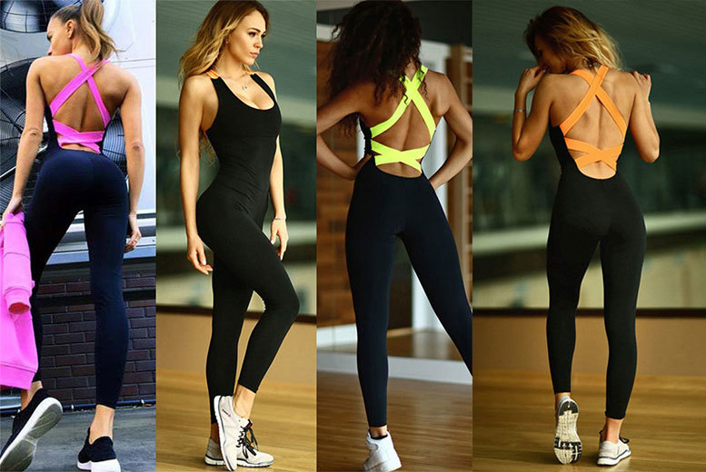 all in one fitness jumpsuit