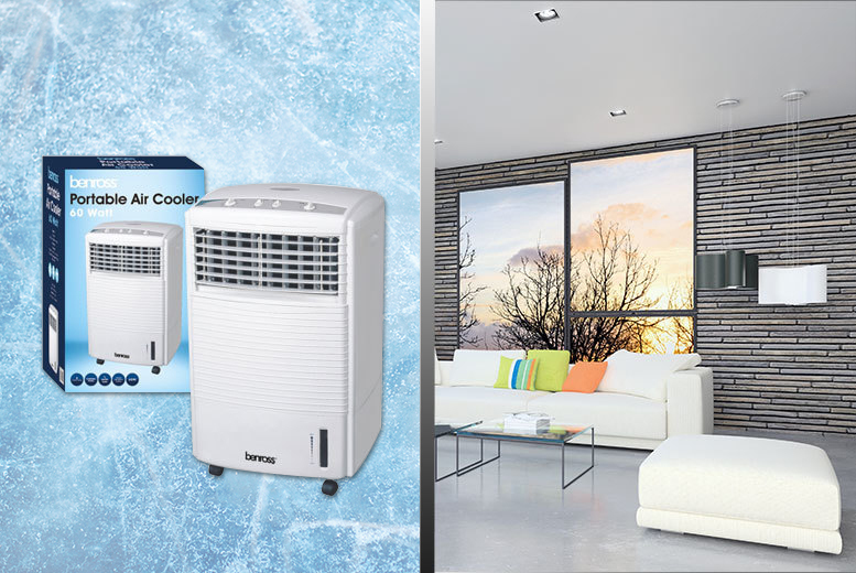 £59 instead of £194.99 (from Groundlevel.co.uk) for a large portable 60W air cooling unit - save an easy breezy 70%