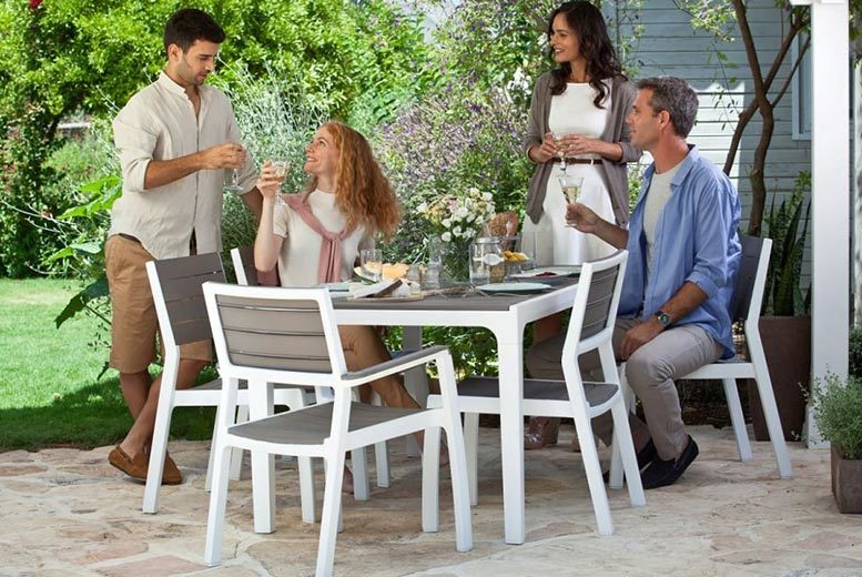 Keter Harmony 6-Seater Outdoor Dining Set