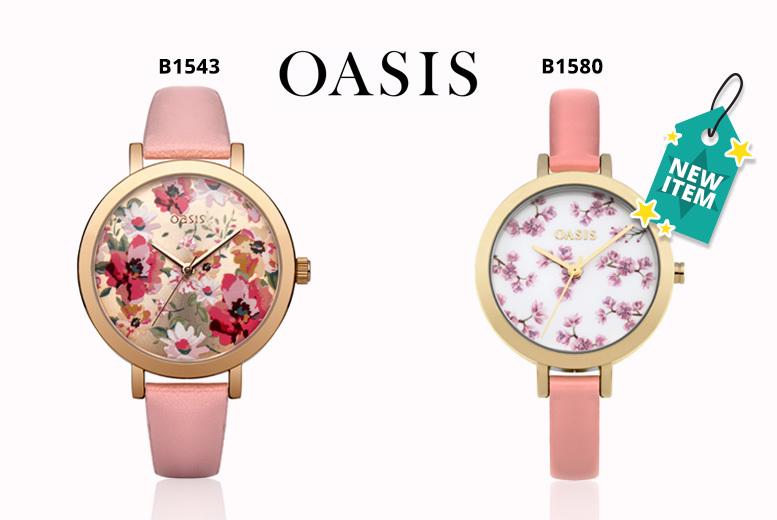 Ladies Floral Oasis Watch - 2 Designs!