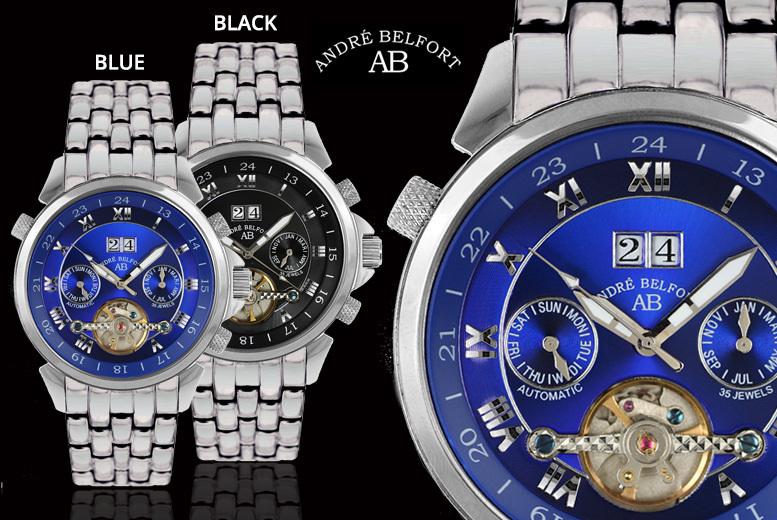 André Belfort 'Étoile Polaire' Men's Watches – 4 Designs! for £179.00