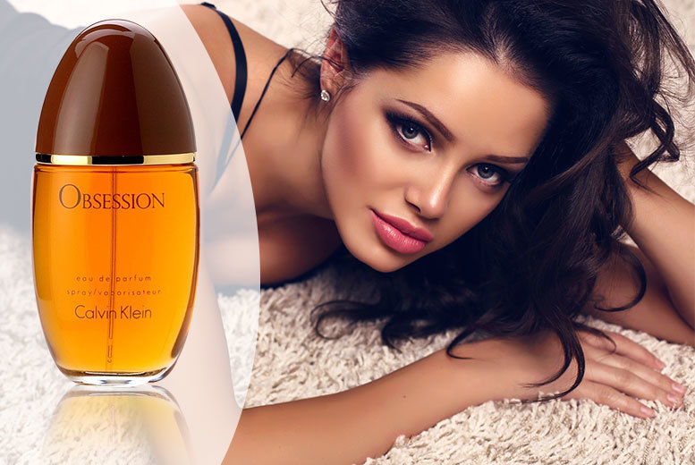 CK Obsession Eau de Parfum for Her - 30ml, 50ml or 100ml!