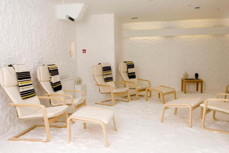 £9 instead of £35 for a one-hour salt therapy session, or £16 for two sessions at The Salt Cave - choose from seven locations and save up to 77%