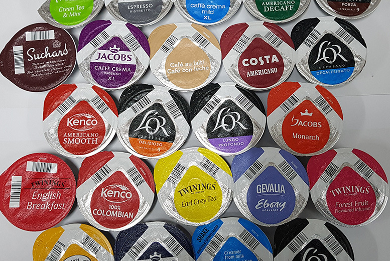 23 Tassimo Variety T-Discs – Assorted Flavours! for £9.00