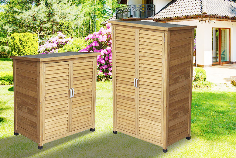 Wooden Storage Shed - Small or Tall!