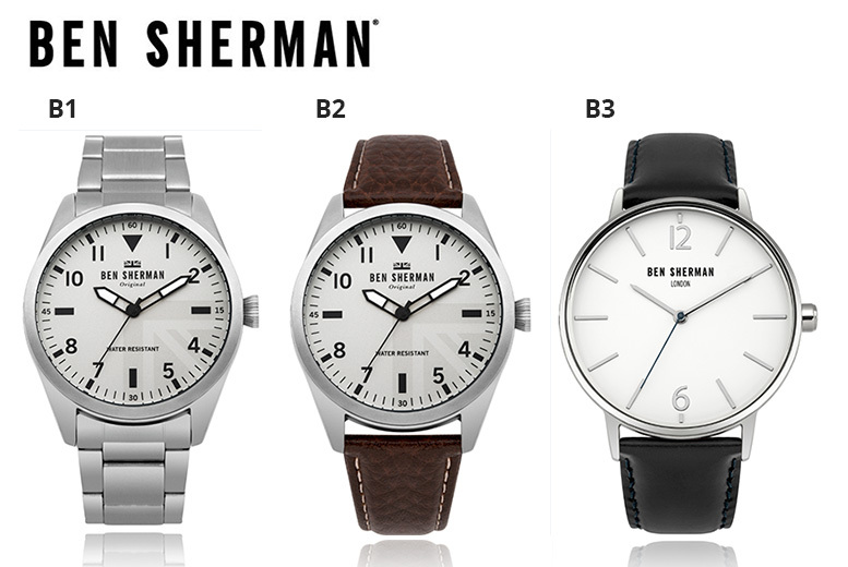 Ben Sherman Men's Watches - Clearance Stock!