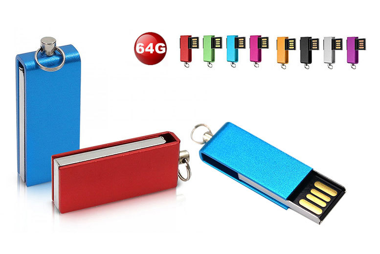 £5.99 instead of £24.99 (from EFMall) for a 64GB USB stick - choose from black, blue, gold, green, pink, purple, red and silver and save 76%