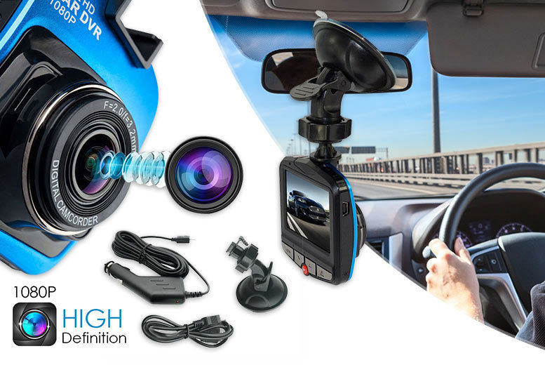 £16 instead of £79.99 for an in-car DVR camera (from Playtech) - save 80%