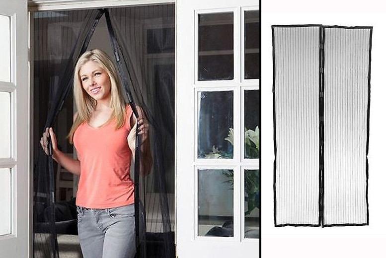Magnetic Mesh Door Screen