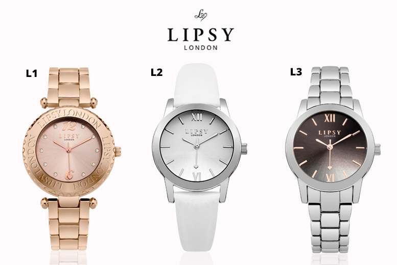 Ladies' Lipsy Watches - 3 Designs!