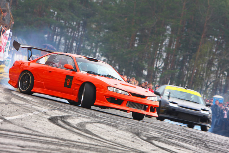 £59 instead of £180 for a half-day drifting experience for one, or £109 for two people with Drift Experience - choose from two locations and save up to 70%