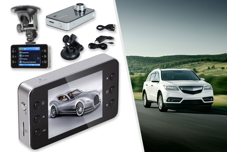 "£9.99 instead of £58.99 (From EFMall) for a 2.7"" full HD 1080p car camera video recorder - insure yourself and save 83%"