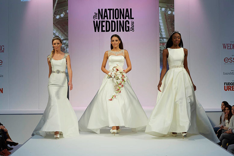 From £8 instead of £19.50 for a ticket to The National Wedding Show at Birmingham NEC or London Olympia - save up to 59%