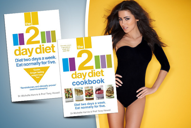 £6.80 instead of £10.99 (from Random House) for 'The 2-Day Diet', £8 for the Cookbook or £14 for both - save up to 38%