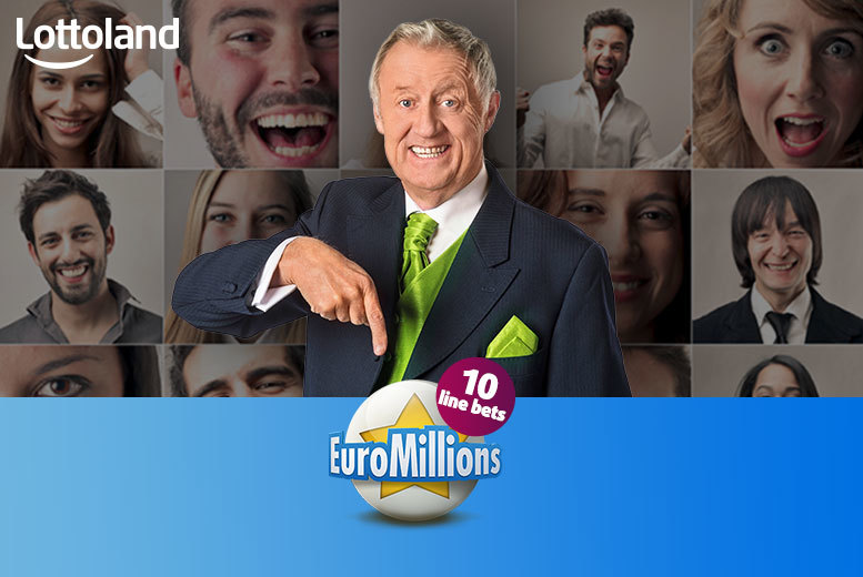 £10 instead of £20 (with Lottoland) for 10 EuroMillions line bets in Tuesday or Friday draws - save 50%