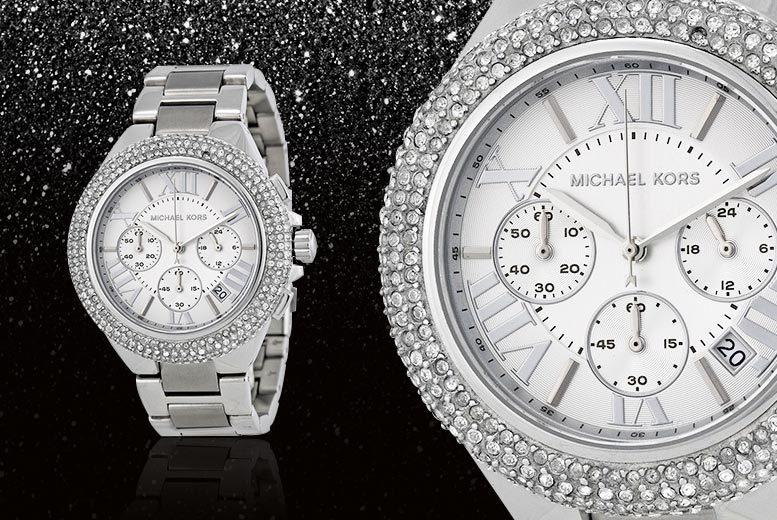 Ladies' Michael Kors MK5634 Camille Stainless Steel Watch
