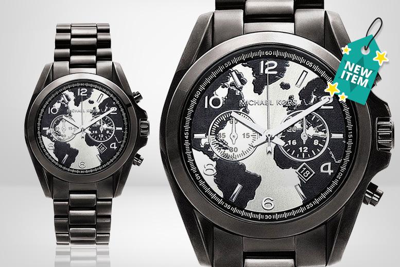 Unisex Michael Kors MK6271 Black Bradshaw Chronograph Watch