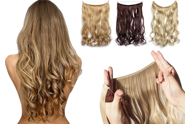 Secret Headband Hair Extensions – 5 Colours! for £9.99