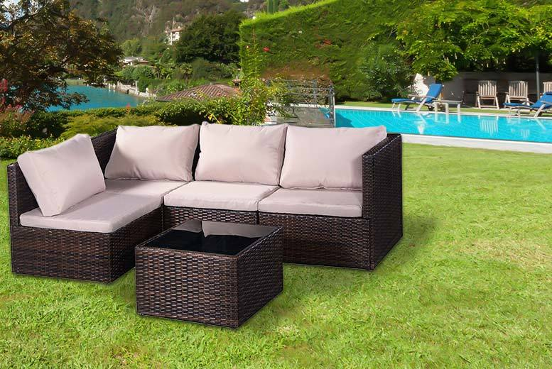 £199 instead of £670 (from CostWay) for a five-piece garden furniture set - save 70%