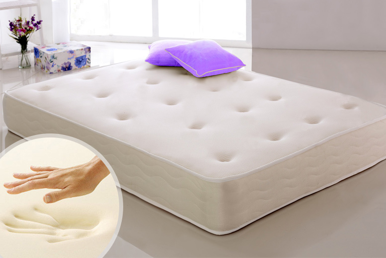 Luxury Contouring Cool Touch Memory Sprung Mattress