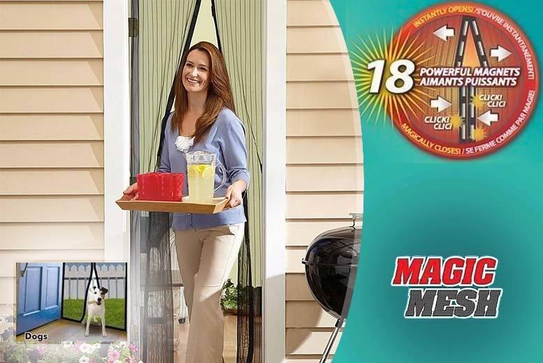 Magnetic Mosquito Door Curtain - 1 or 2