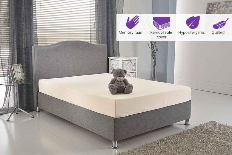 Extra-Thick Comfort Memory Foam Mattress - 5 Sizes!