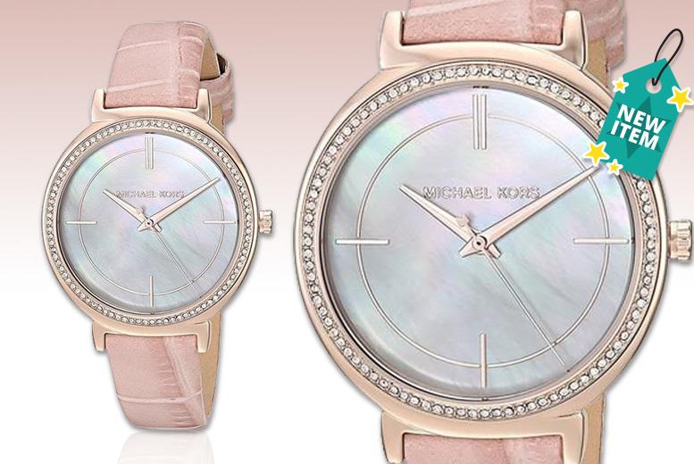 Michael Kors 'Cinthia' Gold-Tone Watch