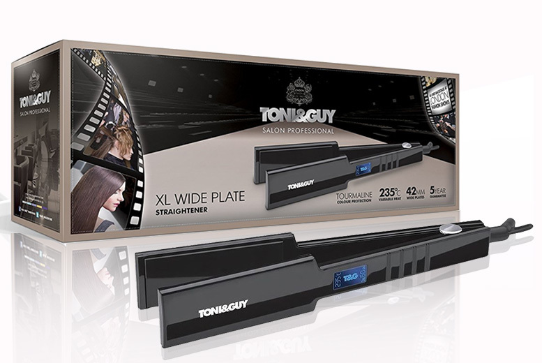 Toni & Guy Salon Pro XL Wide Plate Straightener for £29.99