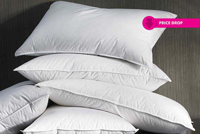 2 or 4 Super Bounce Back Pillows – Clearance Stock! from £4.99