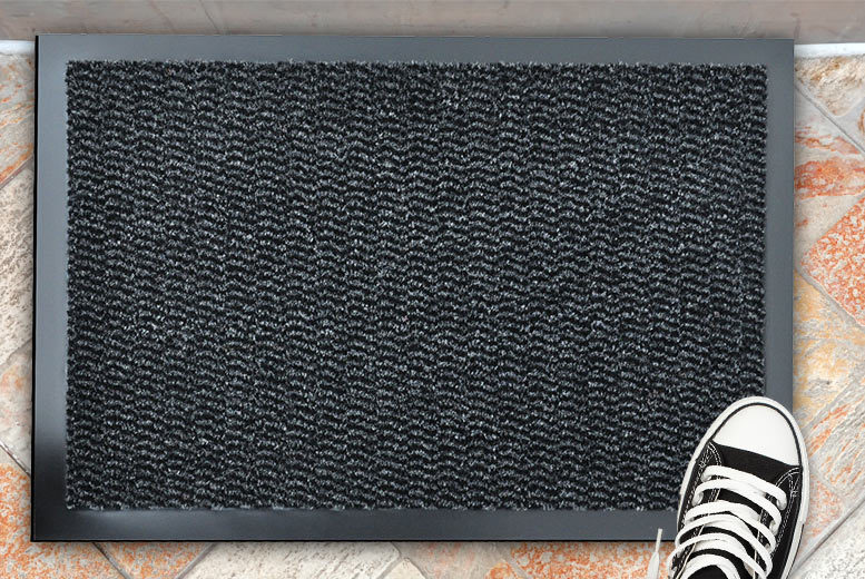 Rubber-Backed Door Mats – 3 Sizes & 4 Colours! from £4.99