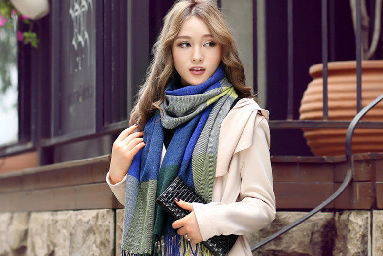 Soft Spring Scarf – 3 Colours! for £9.00