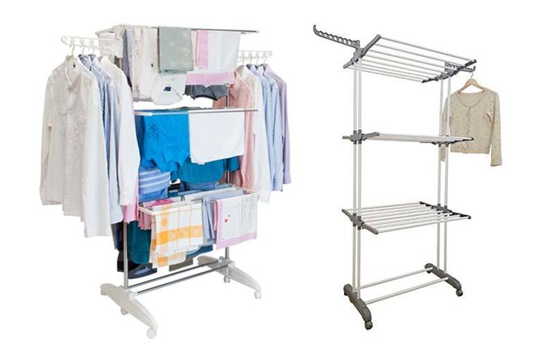 Extra Large 3-Tier Clothes Airer
