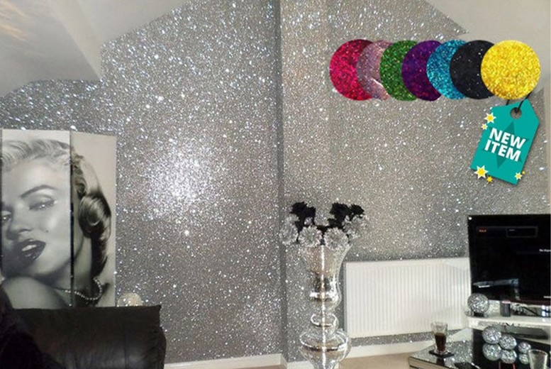 Glitter Paint for Walls – 7 Colours! for £6.99