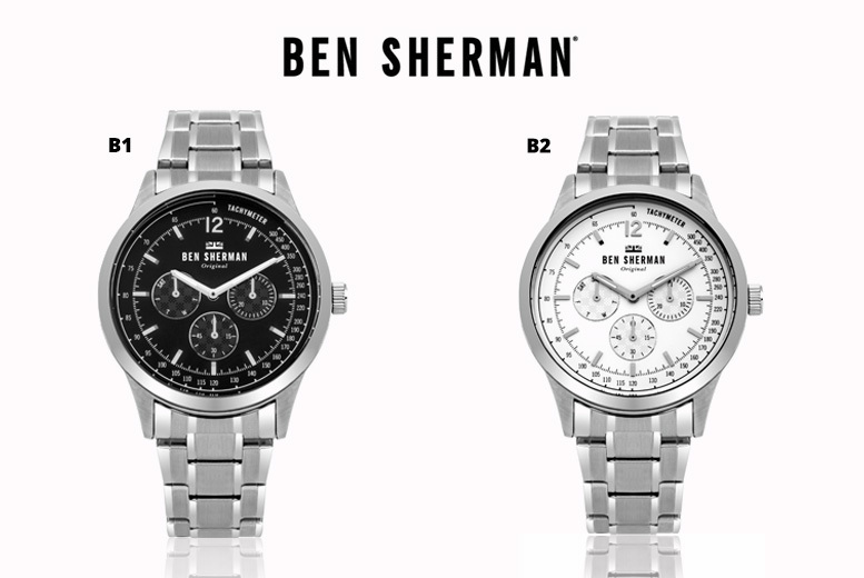 Ben Sherman Stainless Steel Watches - 2 Colours!