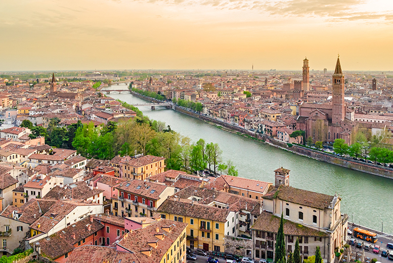 From £149pp (from Weekender Breaks) for a four-night 4* Venice and Verona escape including flights and trains, £199pp to include gondola ride - save up to 25%