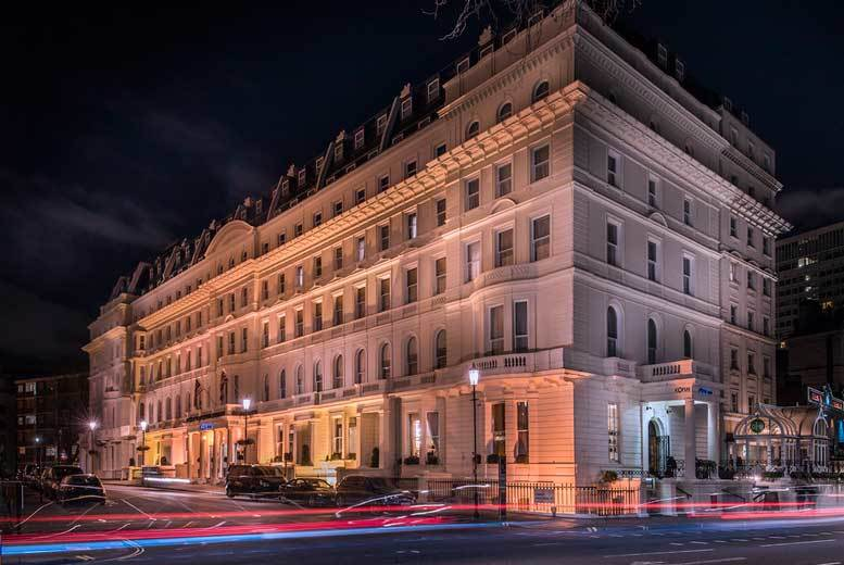 £109 (at Corus Hyde Park Hotel) for a 4* overnight stay for two people including a full English breakfast - discover the delights of the capital and save up to 45%